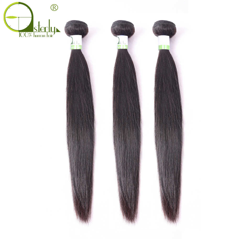 Sterly Peruvian Straight Hair 3 Bundles Remy Human Hair Bundles Natural Color 8-26 Inch Free Shipping