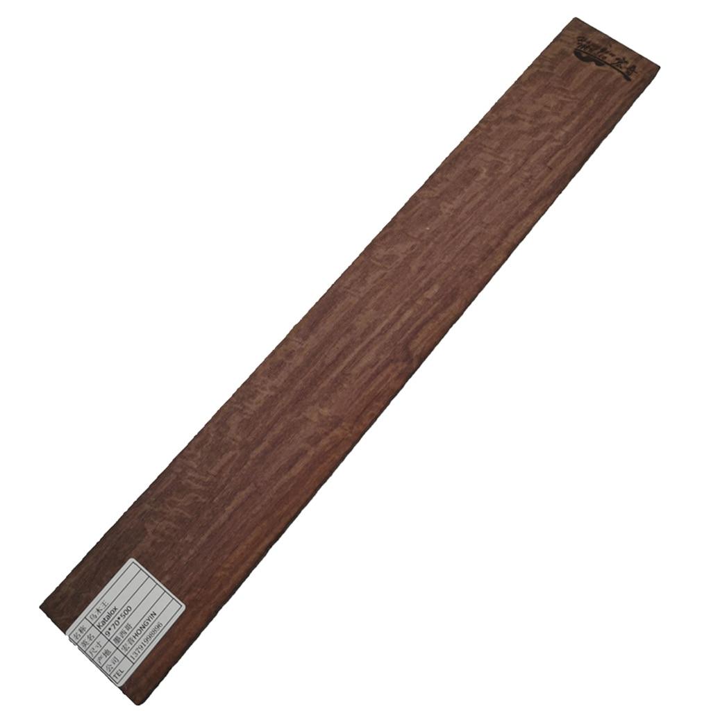 Ebony Wood Guitar Fretboard Fingerboard Blank Plate AAA Grade