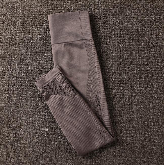 Calças esportivas sem costura femininas, 3 estilos
