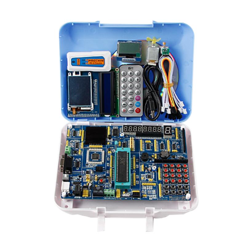 51 MCU Development Board 51+STM32+AVR Development Board STC89C52 Kit Experiment Board