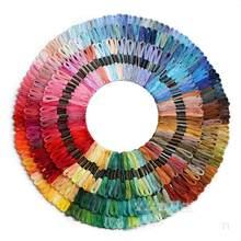 200/100/50 âncora semelhante dmc ponto cruz algodão bordado fio floss costura skeins artesanato hogard