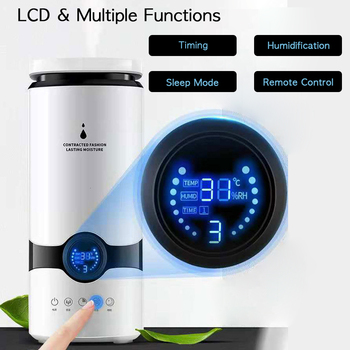 ANIMORE 4L Humidifier Top Fill Essential Oil Aroma Diffuser Cool Mist Ultrasonic Air Humidifier With Intelligent Remote Control 2
