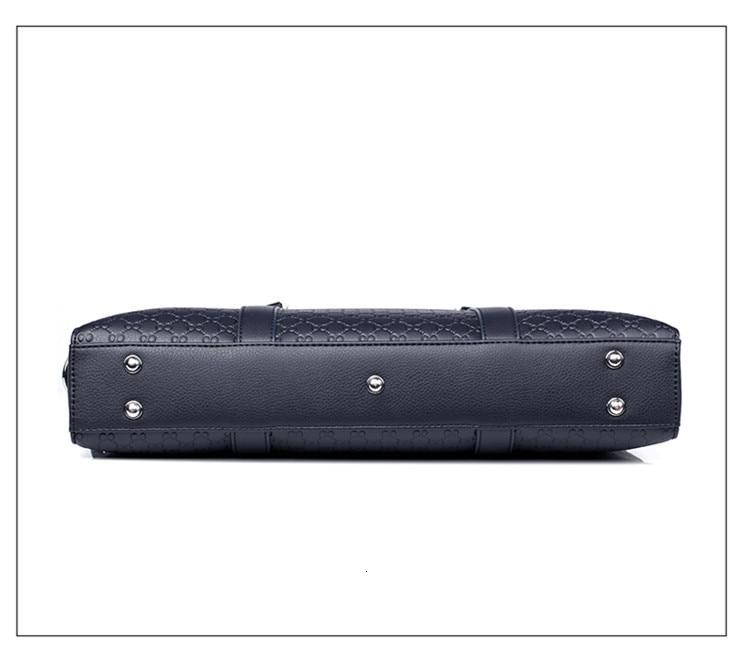 Hcffb676905fc45528ef156932ab77f16K New Double Layers Men's Leather Business Briefcase Casual Man Shoulder Bag Messenger Bag Male Laptops Handbags Men Travel Bags