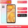Version mondiale Huawei P40 lite téléphone portable 6G 128G 48MP caméras AI 16MP caméra frontale 6.4 ''écran fhd kirin 810 EMUI 10|Mobile Téléphones|   -