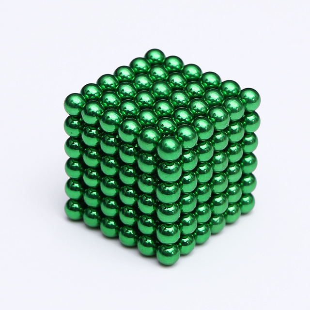 2019 216Pcs/set 3mm Magic Magnet PUZZLE Cube Magnetic Blocks Balls NEO Sphere Beads Building Toys DIY D3 Sphere Neodymium 4