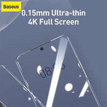 Baseus – Film protecteur Anti-Explosion incurvé, pour Samsung Galaxy S20 Ultra, 0.15mm, 2 pièces