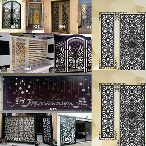 Image 4 - 2000 metal door home garden decor sheet dxf format 2d vector design drawing for CNC laser plasma cutting files collection