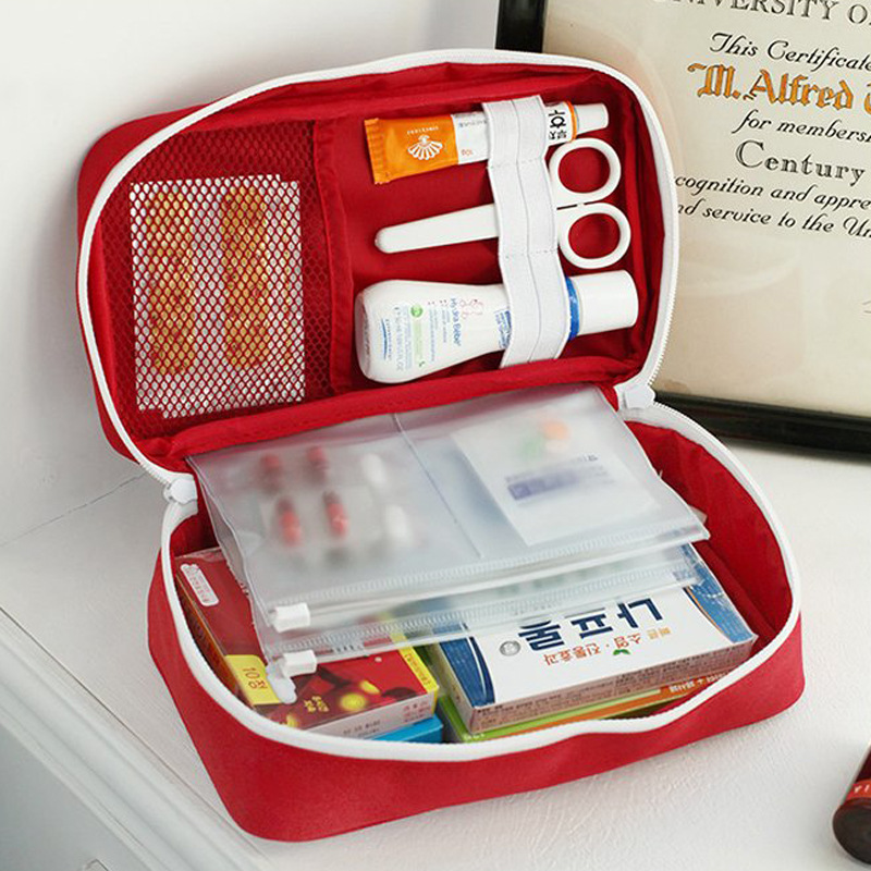 Ultimate SaleStorage-Package First-Aid-Bag Travel-Set Emergency-Medicine-Bag Survival Camping Household