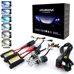 Xenon H7 35W AC 55W Sottile Zavorra kit Xenon HID lampadina Del Faro 12V H1 H3 H11 h7 xenon hid kit 4300k 6000k Sostituire Lampada Alogena
