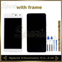 For Microsoft Nokia Lumia 650 LCD Display Screen With Touch Screen Sensor Complete Assembly With Frame