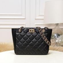 free shipping the new style Europe and America Diamond Lattice genuine cow leather women handbag one shoulder bag the new europe and the united states imported genuine leather single shoulder bag handbag free shipping page 7