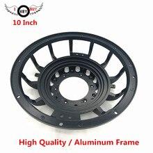I KEY купить 10 дюймов внешний диаметр 312 мм Автомобильный Динамик-сабвуфер высокое качество алюминиевый сплав рамка KTV рамки для динамиков запчасти