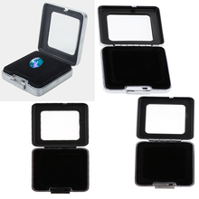2 шт кулон ожерелье коробка для демонстрации колец ювелирные изделия Подарочная Коробка Организатор хранения данных