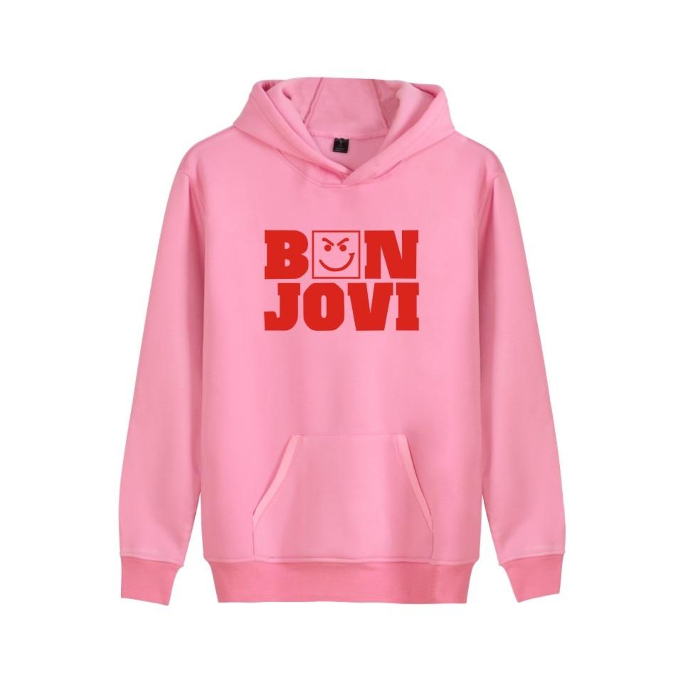 Nouveau Bon Jovi sweat à capuche en homme/femme à manches longues automne chaud doux décontracté unisexe Harajuku Couples mode à capuche