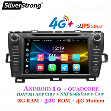 SilverStrong 8inch Android 10,0 Auto DVD für Toyota Prius DVD Links Rechts Hand Radio 4G Modem WIFI Prius android 32GB DSP
