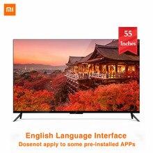 Xiaomi-televisor inteligente 4K de 55 pulgadas, dispositivo ultrafino con montaje en la pared y marco de Metal ultrafino, 2GB y 8GB