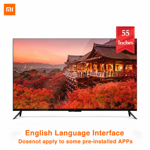 Xiaomi TV 4 55 Inches 4K Smart Ultra Thin TV with Wall Mounted and Desktop Ultra Narrow Metal Frame 2GB 8GB Smart TV