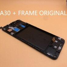 Оригинальный ЖК дисплей с дигитайзером сенсорного экрана в сборе для Samsung galaxy A30 A305/DS A305F A305FD A305A