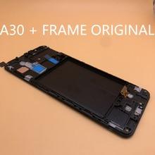 ใหม่OEMสำหรับSamsung Galaxy A30 A305/DS A305F A305FD A305AจอแสดงผลLCD Touch Screen Digitizer Assembly