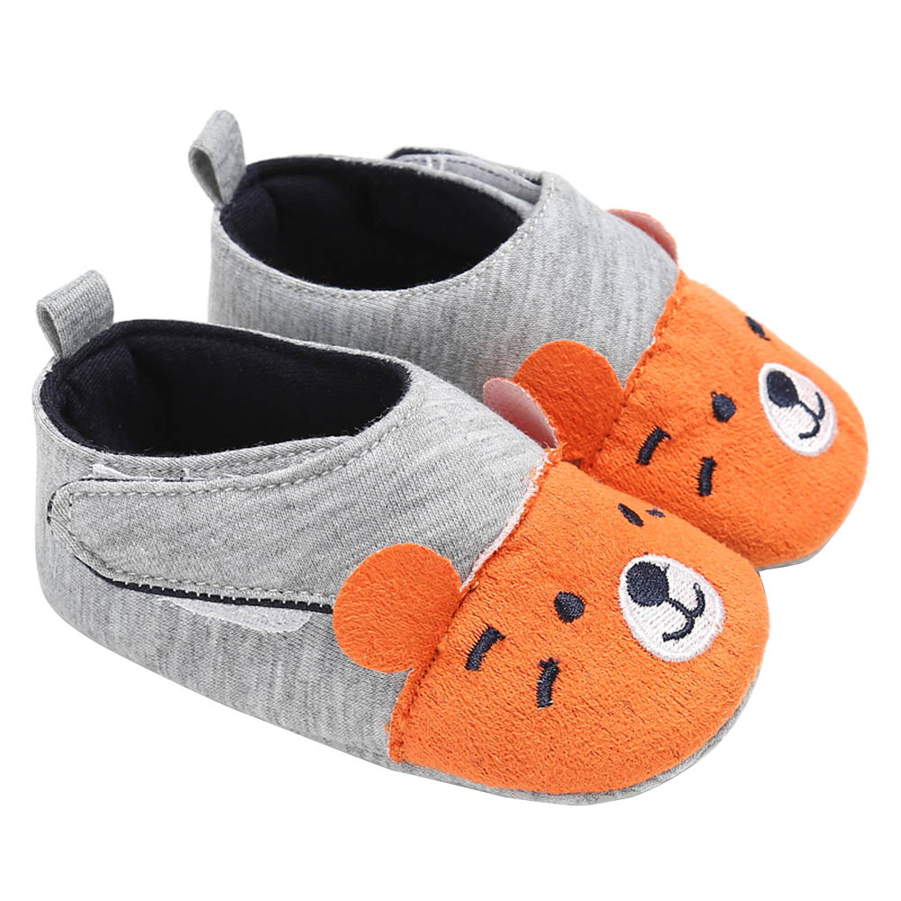 Baby Girls Shoes First Walker Shoes Soft Sole No-slip Prewalkers Sneakers Cute Animal Soles Crib Shoes Footwear For  Baby
