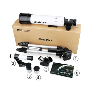 Image 5 - SVBONY SV25 60420 Monocular Astronomical Telescope+Tripod+Optical Finder Scope for Watch Travel Moon Bird for Kid back to school