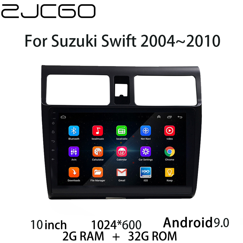 Car Multimedia Player Stereo GPS DVD Radio Navigation <font><b>Android</b></font> Screen for <font><b>Suzuki</b></font> <font><b>Swift</b></font> 2004 2005 2006 2007 <font><b>2008</b></font> 2009 2010 image