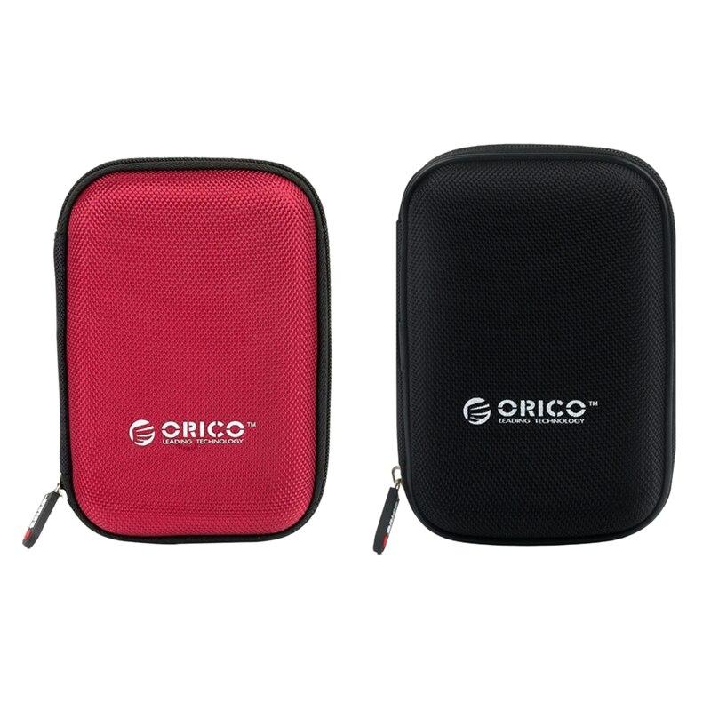 ORICO 2 шт. Phd-25 2,5 дюймов Hdd защитная сумка коробка для внешнего жесткого диска защитный чехол для Hdd Ssd (красный и черный)