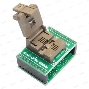 Image 4 - QFN8 to DIP8 Programmer Adapter WSON8 DFN8 MLF8 to DIP8 socket for 25xxx 5x6mm Pitch=1.27mm