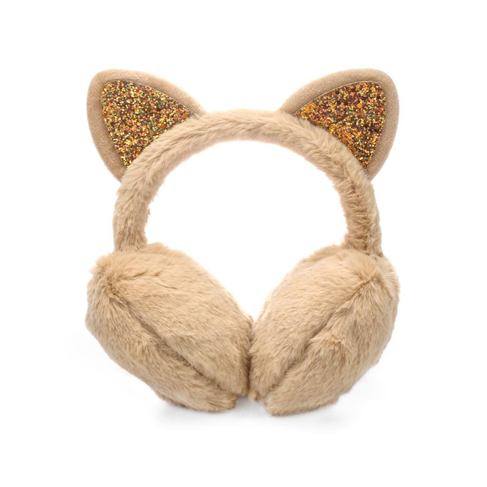 Зимние наушники для ушей, теплые детские милые утепленные плюшевые наушники с единорогом, новинка, высокое качество, покрытие для ушей, теплые аксессуары, детские подарки - Цвет: 4