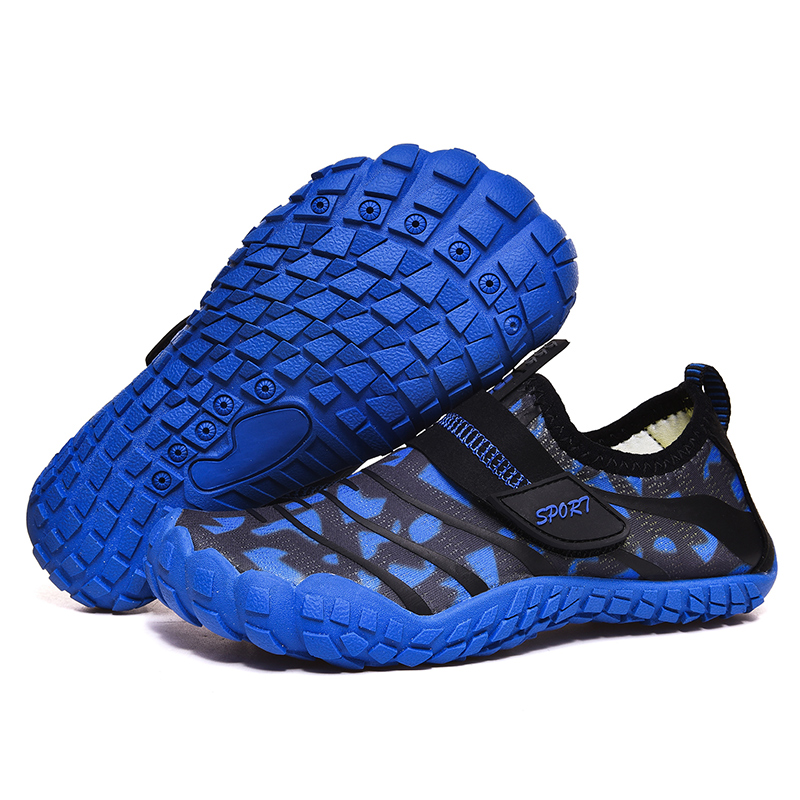 Esportes elásticos wearproof sapatos de água antiderrapante