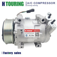 SD7V16 AC Air Conditioner Compressor Pulley PV7 for Car Renault DACIA Duster 1.5 dCi 8201018716 1815 00281310862