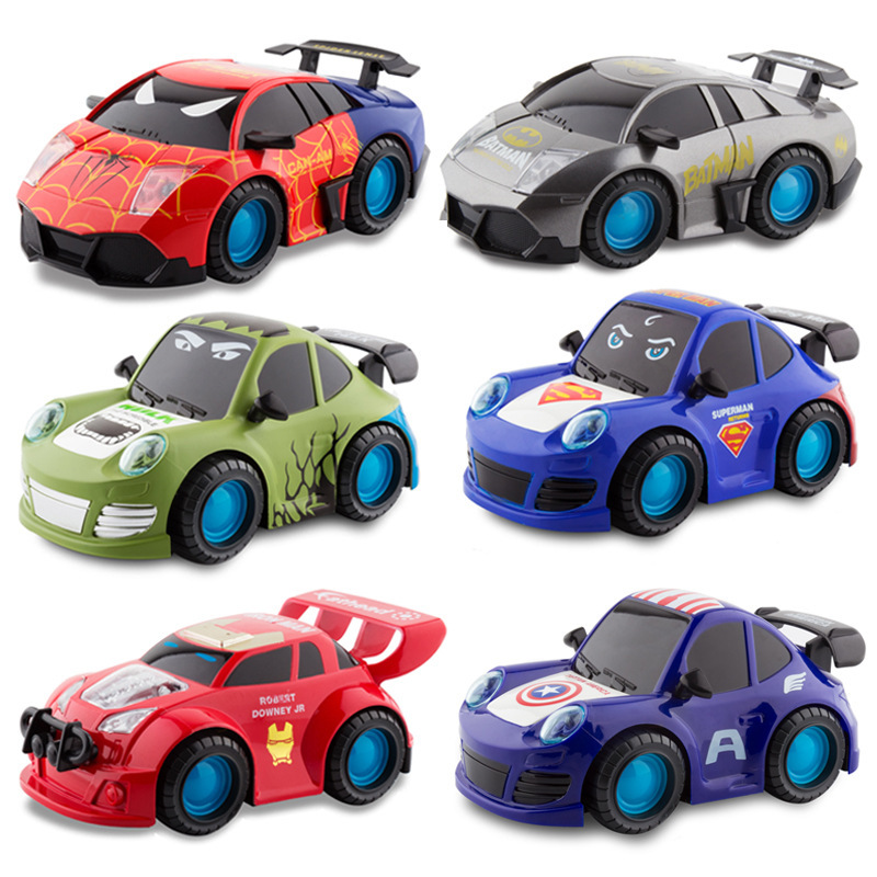 League Of Legends Series Universal Light Music Car Little Boy Drop-resistant Cartoon Race Car Universal Car Gc00005