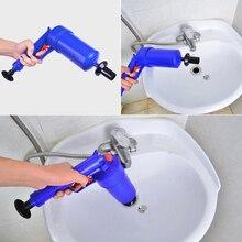 Воздушный сливной бластер высокого давления Мощный Ручной Плунжер для раковины открывалка дозатор с насосом для очищения для ванны для туалета ванной J24