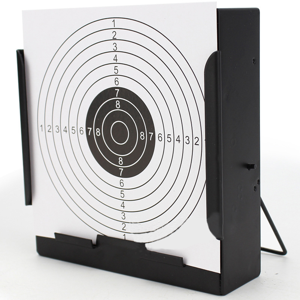 14cm*14cm Card Target Holder Portable Pellet Trap For Air Rifle/Airsoft Pistol Practice Training Shooting Target