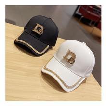 Recreational joker D word set diamond baseball cap spring and summer sun shade fashion rhinorrhoeine cap