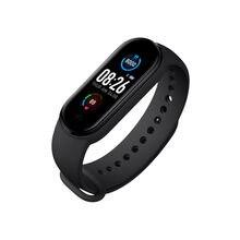 Bracelet connecté M5, Bluetooth, moniteur d'activité physique, moniteur de fréquence cardiaque, étanche, pour femmes et hommes