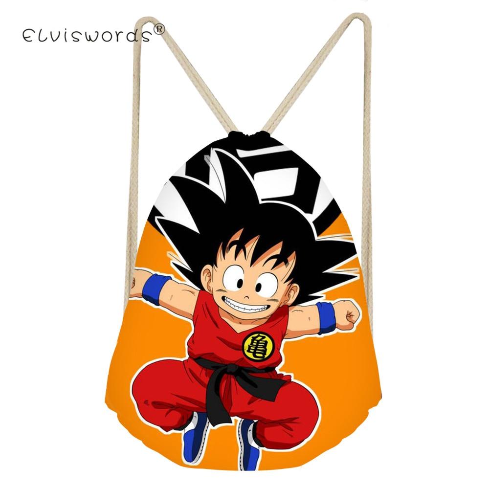 Christmas Bag Drawstring Gift Bag Japan Style Dragon Ball Drawstring Bag Sports Waterproof Backpack Bundle Pocket Custom Printin