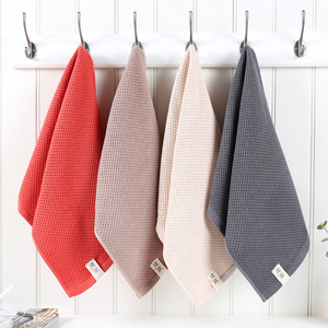 Image 5 - Beroyal Brand 1PC 100% Cotton Hand Towels for Adults Plaid Hand Towel Face Care Magic Bathroom Sport Waffle Towel 33x72cm