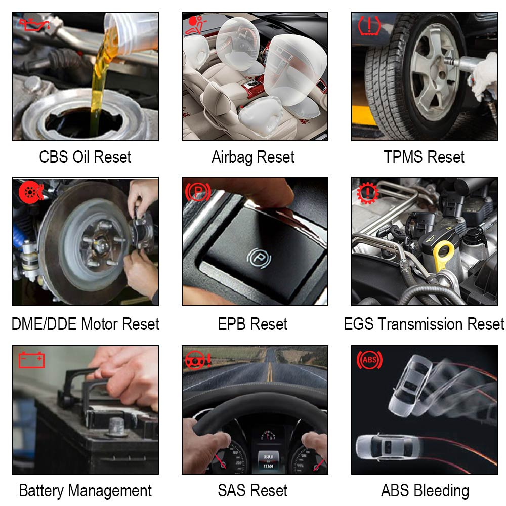 Image 4 - Autophix 7910 Bmw OBD2 自動車スキャナ SRS SAS ABS EPB ためのオイルのリセット BMW  OBD2 スキャナロールスロイス OBD 診断ツール    グループ上の 自動車