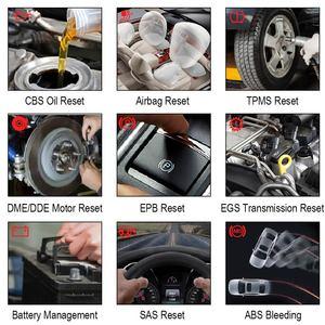 Image 4 - Autophix 7910 escáner automotriz SRS SAS ABS EPB para BMW OBD2, reinicio de aceite, escáner para Rolls Royce OBD, herramienta de diagnóstico