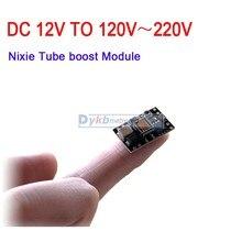 Dc 3 V 16 v 5V 12v do 170V DC boost wysokie napięcie zasilania moduł zasilający dla Nixie Tube Glow clock Tube magiczne oko 3.7V 3.2V