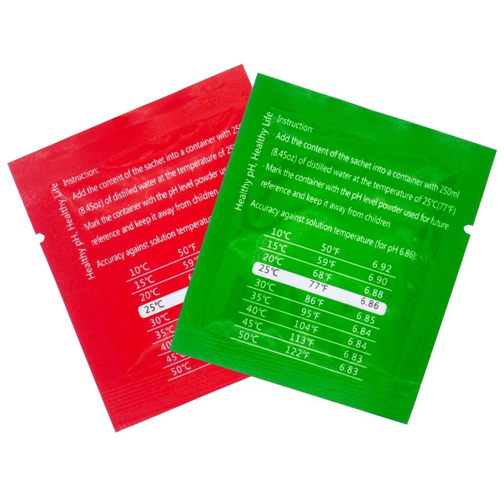 200 pezzi di tampone PH in polvere per acquario PH-metro PH-metro - Strumenti di misura - Fotografia 6
