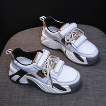 Fashion Thick Bottom Womens Platform Sneakers Casual Shoes Z