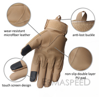 Full Finger Motorcycle Gloves Enduro Winter Microfiber Leather Racing Tactical Military Motocross Gloves Motorbike Accessories 4