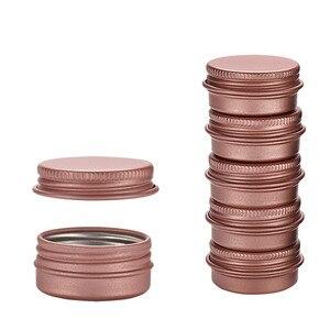 Image 3 - Frasco vacío de aluminio para cosméticos, frasco vacío de aluminio para cremas, envases metálicos para cremas, 5g, 10g, 15g, 20g, 30g, 50g