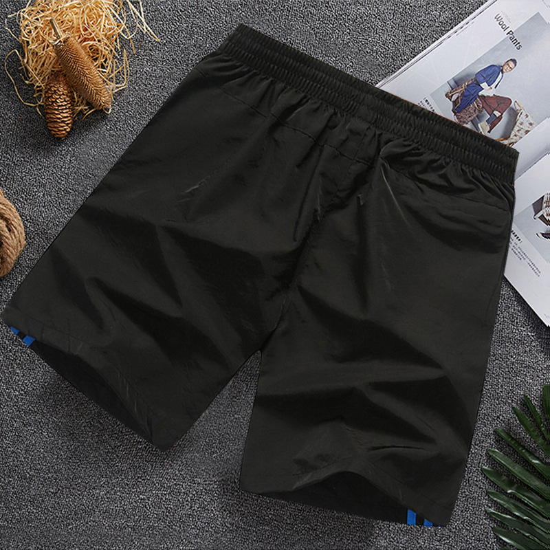 18 Summer New Style Men Loose-Fit Casual Shorts Men's Sports Shorts Beach Shorts Large Size Quick Drying Pants K1009