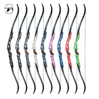 68 inch 18-44 lbs Left/Right  Archery Recurve Bow Aluminum alloy 25 inches Riser Bow Outdoor Hunting Shooting Accessories