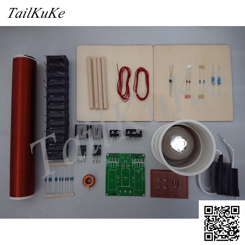 Tesla Coil Kit  DIY Technology  Wireless Transmission  Lighting  Arc Drawing  Arc Spraying|draw drawings|kit kits|kit coil - title=