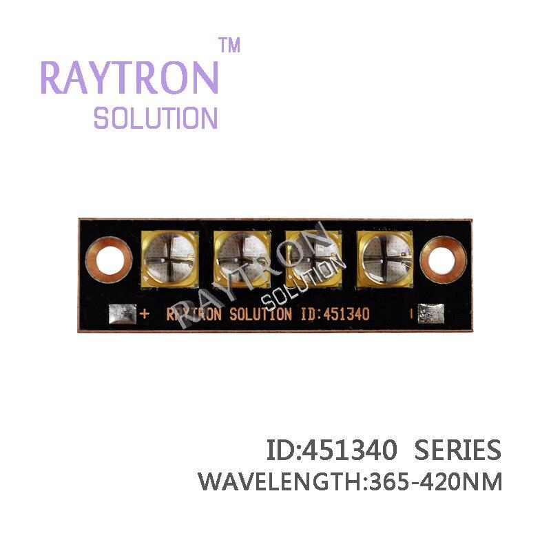 40w raytron 6565 pcb uv led diode,inkjet printer curing,uv glue curing,marking machine,lable printer copper board uv led diode