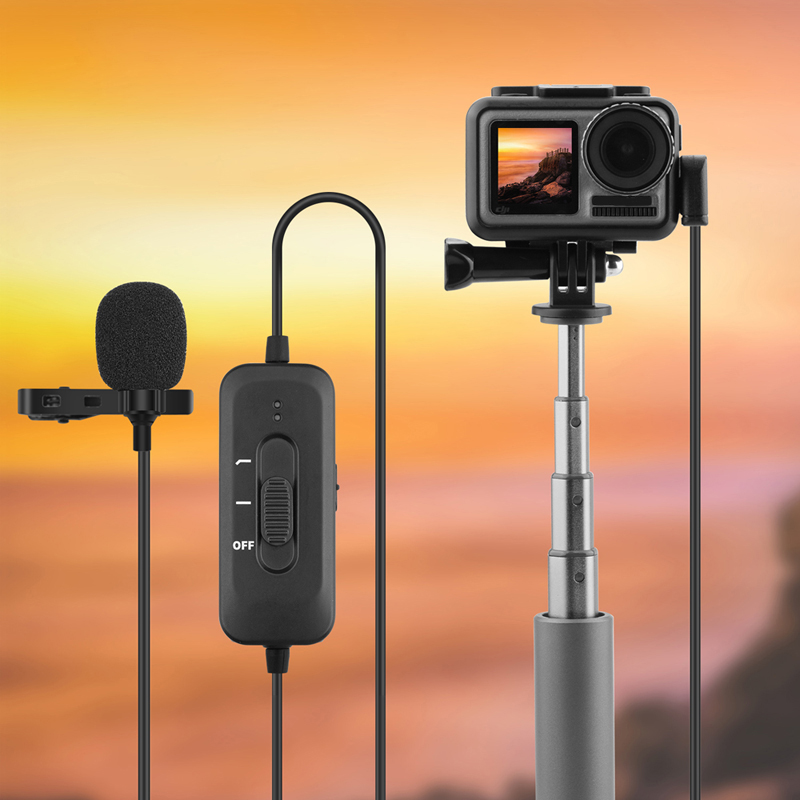 Mool 3.5mm o gravação de vídeo lapela